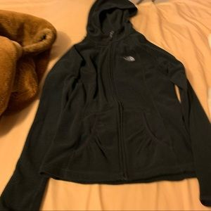 Women's The Northface Fleece Hoodie Jacket